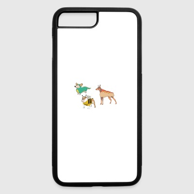 hotdog hot dog sausages fast food fastfood3 - iPhone 7 Plus/8 Plus Rubber Case