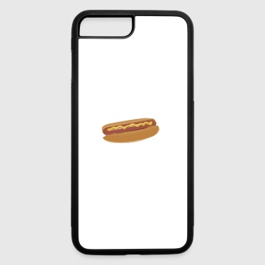 hotdog hot dog sausages fast food fastfood4 - iPhone 7 Plus/8 Plus Rubber Case