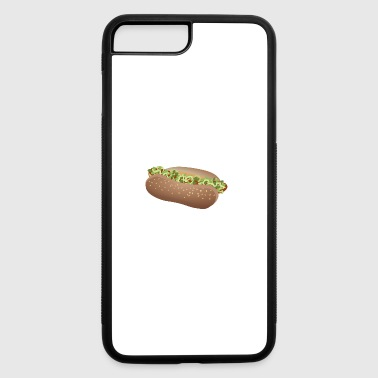 hotdog hot dog sausages fast food fastfood19 - iPhone 7 Plus/8 Plus Rubber Case