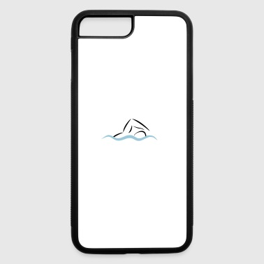 swimmer - iPhone 7 Plus/8 Plus Rubber Case