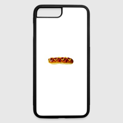 hotdog hot dog sausages fast food fastfood13 - iPhone 7 Plus/8 Plus Rubber Case