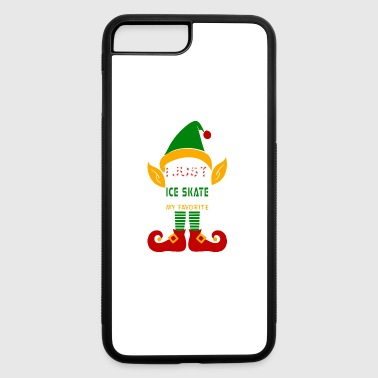 I Just Like To Ice Skate Ice Skatings My Favorite - iPhone 7 Plus/8 Plus Rubber Case
