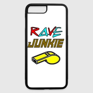 rave junkie - iPhone 7 Plus/8 Plus Rubber Case