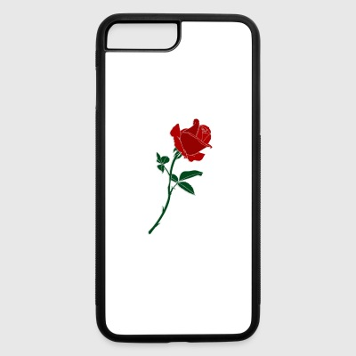 red rose - iPhone 7 Plus/8 Plus Rubber Case