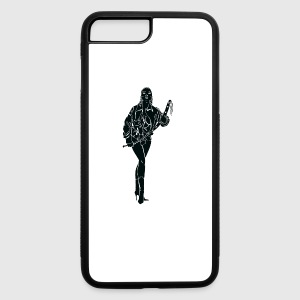BDSM_woman_with_long_leather_black - iPhone 7 Plus/8 Plus Rubber Case