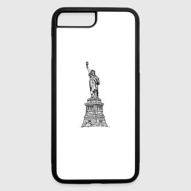 statue of liberty - iPhone 7 Plus/8 Plus Rubber Case