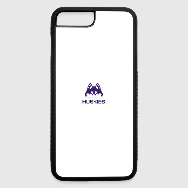 Huskies Logo #2 - iPhone 7 Plus/8 Plus Rubber Case
