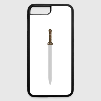vikings wickinger warrior vikingboat boot8 - iPhone 7 Plus/8 Plus Rubber Case