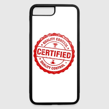 7 2 certified stamp picture - iPhone 7 Plus/8 Plus Rubber Case