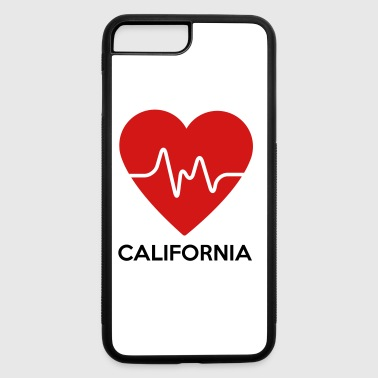 Heart California - iPhone 7 Plus/8 Plus Rubber Case
