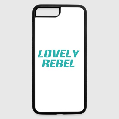 lovely rebel - iPhone 7 Plus/8 Plus Rubber Case