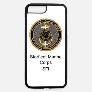 Minimum Starfleet Marines Con-minimum unisex camo shirt - iPhone 7 Plus/8 Plus Rubber Case