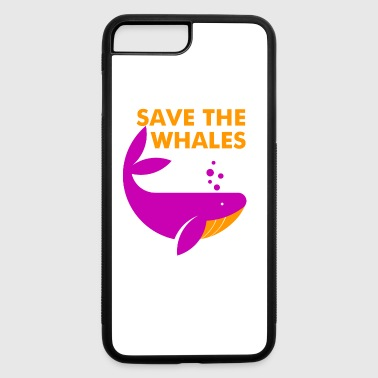 Save the Whales - iPhone 7 Plus/8 Plus Rubber Case