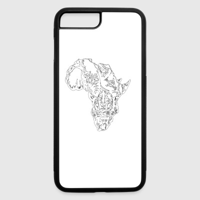 AFRICAN MAP - iPhone 7 Plus/8 Plus Rubber Case