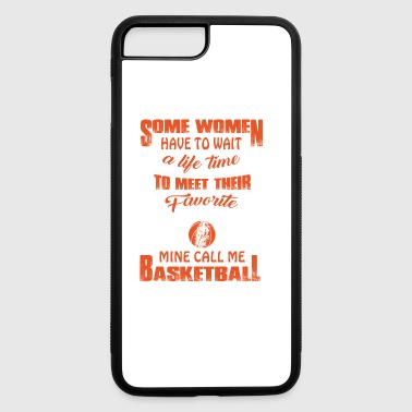 Favorite Player Mom Mine Call Me Basketball TShirt - iPhone 7 Plus/8 Plus Rubber Case