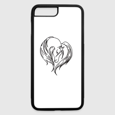 love house - iPhone 7 Plus/8 Plus Rubber Case