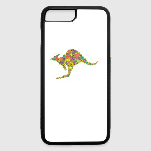Kangaroo Flower Shirt - iPhone 7 Plus/8 Plus Rubber Case