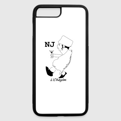 A funny map of New Jersey 3 - iPhone 7 Plus/8 Plus Rubber Case