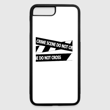 crimescene blak - iPhone 7 Plus/8 Plus Rubber Case