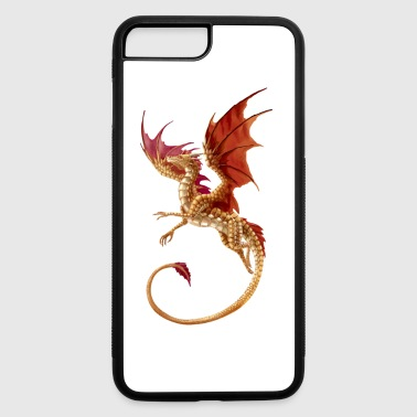 flying golden dragon - iPhone 7 Plus/8 Plus Rubber Case