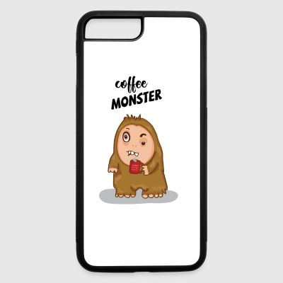 COFFEE MONSTER - iPhone 7 Plus/8 Plus Rubber Case