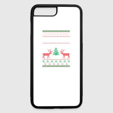 Not Santa But You Can Sit On My Lap Ugly Christmas - iPhone 7 Plus/8 Plus Rubber Case
