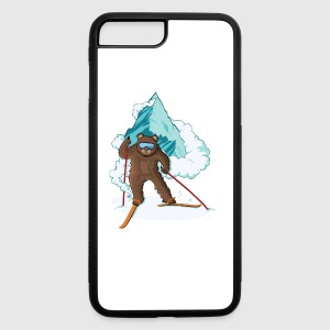 Skiing Bear - iPhone 7 Plus/8 Plus Rubber Case