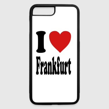 I love Frankfurt (variable colors!) - iPhone 7 Plus/8 Plus Rubber Case