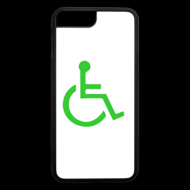 Wheelchair symbol mailto - iPhone 7 Plus/8 Plus Rubber Case