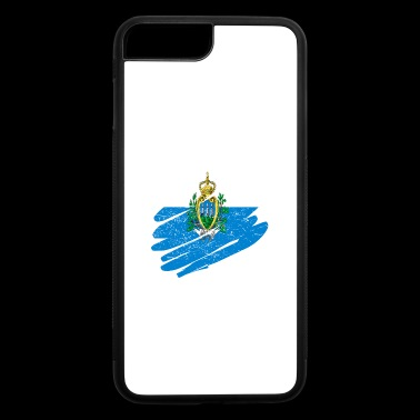 Pinsel Land Heimat San Marino - iPhone 7 Plus/8 Plus Rubber Case