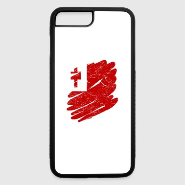 Pinsel Land Heimat Tonga - iPhone 7 Plus/8 Plus Rubber Case
