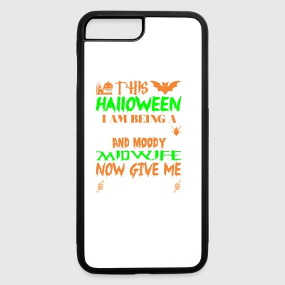 This Halloween Being Tired Midwife Candy - iPhone 7 Plus/8 Plus Rubber Case