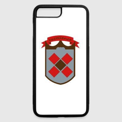 shield excellence - iPhone 7 Plus/8 Plus Rubber Case