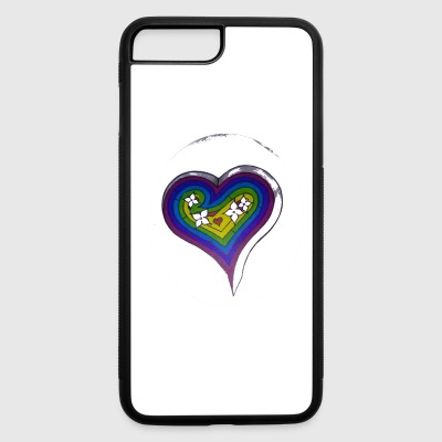 HEART PUZZLE - iPhone 7 Plus/8 Plus Rubber Case