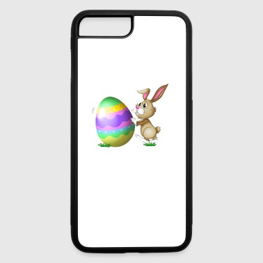 Easter Bunny Logo - iPhone 7 Plus/8 Plus Rubber Case