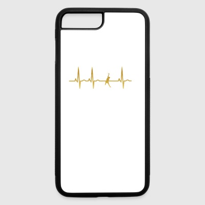 evolution ekg heartbeat volleyball beachvolleyball - iPhone 7 Plus/8 Plus Rubber Case
