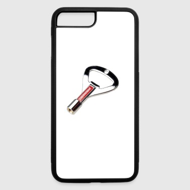 Chrome Drum Key and Bottle Opener - iPhone 7 Plus/8 Plus Rubber Case