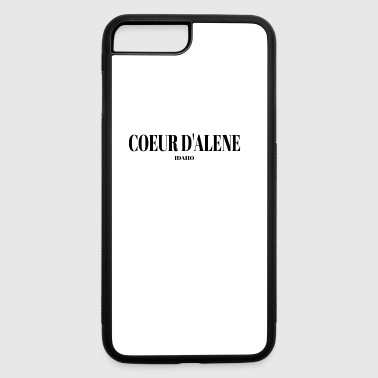 IDAHO COEUR D ALENE US DESIGNER EDITION - iPhone 7 Plus/8 Plus Rubber Case