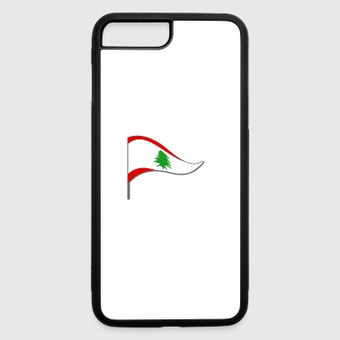 Lebanon Beirut Arabic Flag Banner Flags Ensigns - iPhone 7 Plus/8 Plus Rubber Case