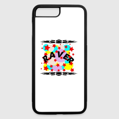 raver curve - iPhone 7 Plus/8 Plus Rubber Case