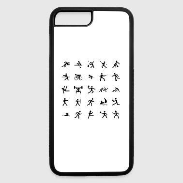karate martial arts thai boxing ninja kickboxing54 - iPhone 7 Plus/8 Plus Rubber Case