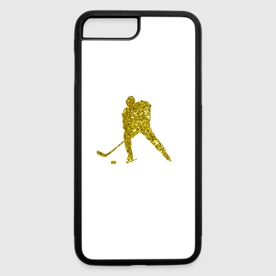 Golden Ice Hockey - iPhone 7 Plus/8 Plus Rubber Case