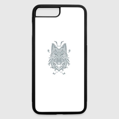 Wolf, Wolf Art, Wolf Drawing - iPhone 7 Plus/8 Plus Rubber Case