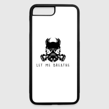 Air Pollution-Dying Light - Gas Mask - iPhone 7 Plus/8 Plus Rubber Case