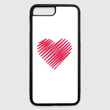 VALENTINE DAY - SPECIAL DESIGN 3 - iPhone 7 Plus/8 Plus Rubber Case