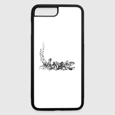 doodle art love letters fairytale romantic - iPhone 7 Plus/8 Plus Rubber Case