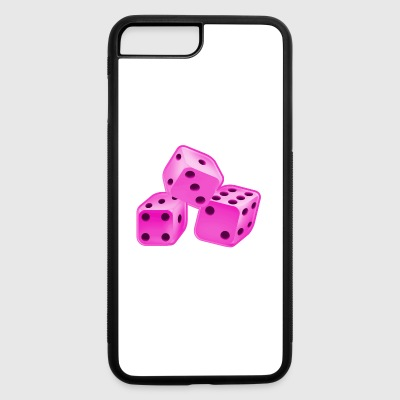 Dice Pink - iPhone 7 Plus/8 Plus Rubber Case