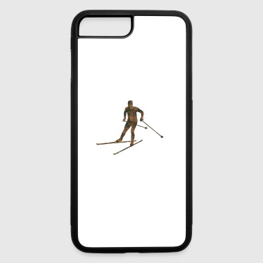 Rust Cross-country skiing - iPhone 7 Plus/8 Plus Rubber Case