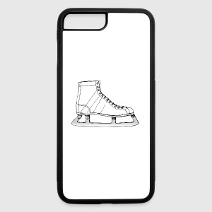 ice skating schlittschuhe laufen skates skating10 - iPhone 7 Plus/8 Plus Rubber Case