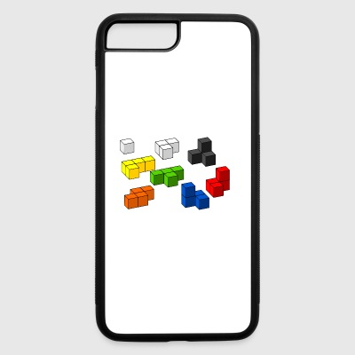 Tetris blocks - iPhone 7 Plus/8 Plus Rubber Case